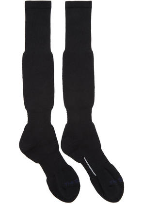 Takahiromiyashita Thesoloist. Black Long Pile Socks