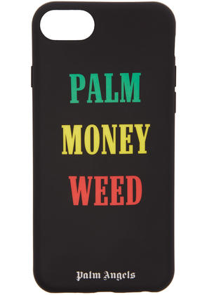 Palm Angels Black palm Money Weed Iphone 7 Case