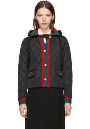 Gucci Black Quilted Jacket