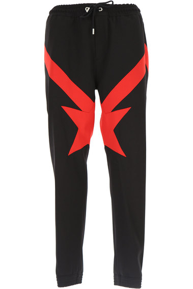 Pants for Men On Sale, Black, Wool, 2017, 34 Givenchy
