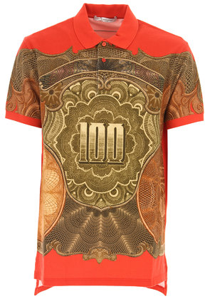 Givenchy Polo Shirt for Men On Sale in Outlet, Red, Cotton, 2017, S XS XXS
