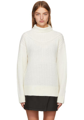 3.1 Phillip Lim White Alpaca Turtleneck