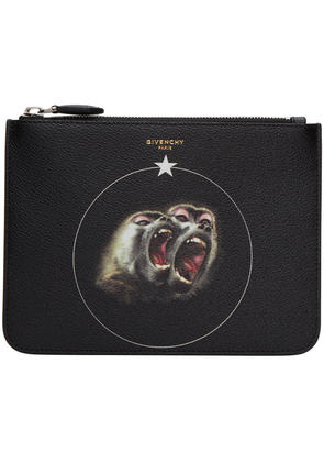 Givenchy Black Monkey Brothers Pouch