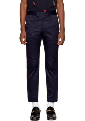 Gucci Navy Formal 60s Trousers