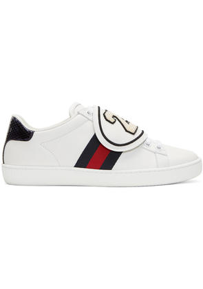 Gucci White 25 Ace Sneakers