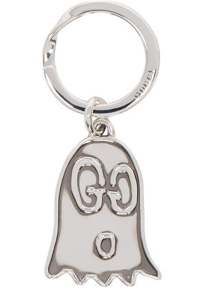 Gucci Silver life Is Gucci Guccighost Keychain