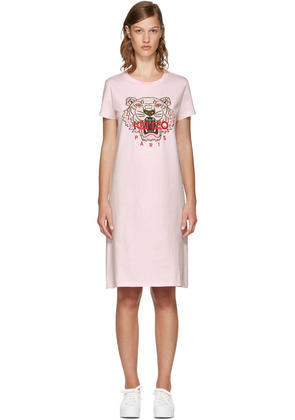 Kenzo Pink Limited Edition Tiger T-shirt Dress