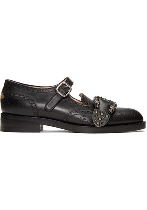 Gucci Black Queercore Mary Jane Brogues
