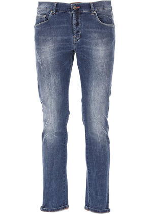 Jeans On Sale, Denim Blue, Cotton, 2017, 31 32 36 38 Daniele Alessandrini