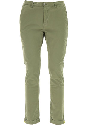 Pants for Men On Sale, Military Green, Cotton, 2017, 31 32 33 34 36 Daniele Alessandrini