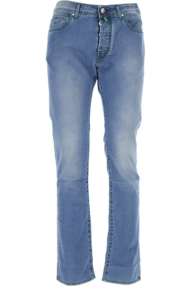 Jeans On Sale, Dark Blue, Cotton, 2017, US 31 - EU 47 US 32 - EU 48 US 35 - EU 51 US 36 - EU 52 Jacob Cohen