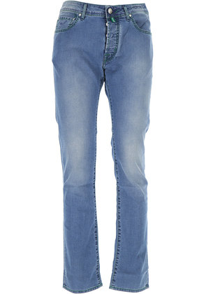 Jeans On Sale, Denim Blue, Cotton, 2017, US 30 - EU 46 US 31 - EU 47 US 32 - EU 48 US 33 - EU 49 US 34 - EU 50 US 35 - EU 51 US 36 - EU 52 US 38 - EU 54 Jacob Cohen