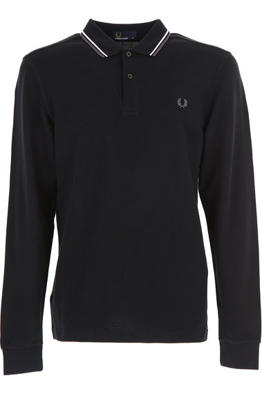Polo Shirt for Men On Sale, White, Cotton, 2017, L M S XL Fred Perry
