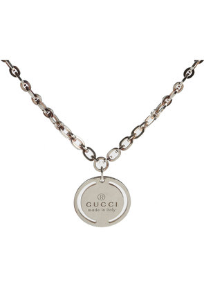 Gucci Necklaces On Sale, Silver, Silver 925, 2017