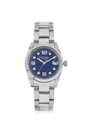 Forzieri Women's Watches, Sabina Silver Tone Stainless Steel Women's Watch