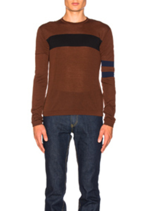 CALVIN KLEIN 205W39NYC Stocking Tee in Brown