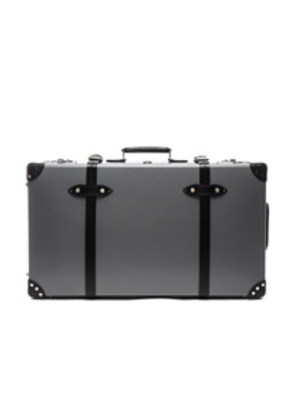 Globe-Trotter 30' Centenary Suitcase with Wheels in Gray