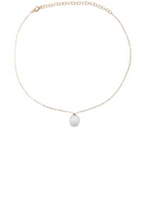 ERTH 14K Gold Pearl Choker Necklace in Metallics