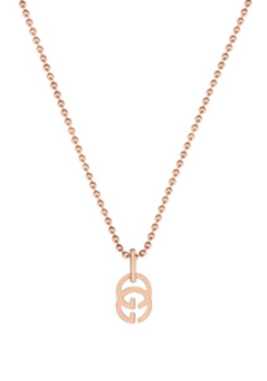 Gucci GG Running Necklace in Metallics
