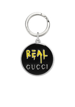 Gucci GucciGhost Real Keyring in Metallics