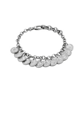 Gucci Coin Bracelet in Metallics