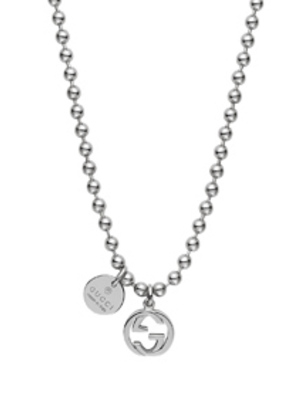 Gucci Boule Charm Necklace in Metallics