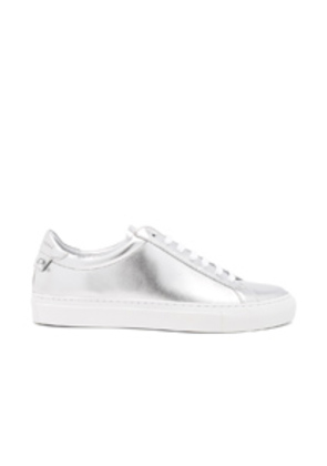 Givenchy Metallic Leather Urban Tie Knot Sneakers in Metallics. H27h4iAF