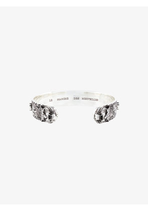 Gucci tiger head zirconium bracelet