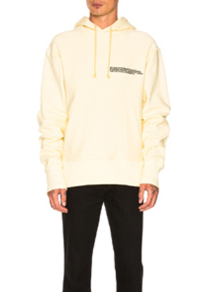 CALVIN KLEIN 205W39NYC Hoodie in Yellow