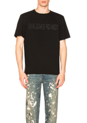 Helmut Lang Re-Edition Tom of England T-Shirt in Black