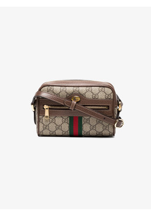 Gucci Brown Ophidia GG Supreme mini bag