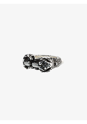 Gucci Tiger heads ring
