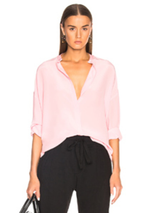 Haider Ackermann Oversized Shirt in Pink