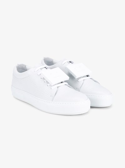 Sneakers for Women On Sale, White, Leather, 2017, 7.5 8.5 Acne Studios