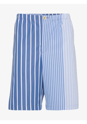 Marni Contrasting striped shorts
