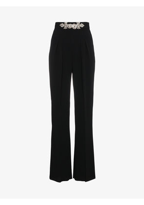 Christopher Kane Crystal High Waisted Trousers