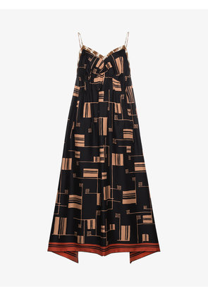 Dries Van Noten Silk Ditius Slip Dress