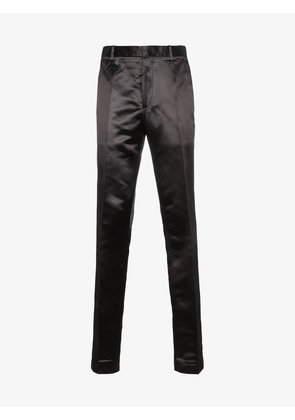 Calvin Klein 205W39nyc Satin trousers with side stripe