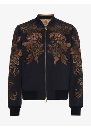 Dries Van Noten Vinny reversible bomber jacket