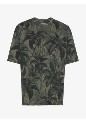 Dries Van Noten Henry Khaki Palm T-Shirt