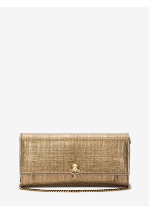 ALEXANDER MCQUEEN Wallets with chain - Item 22001707