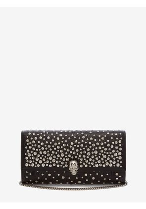 ALEXANDER MCQUEEN Wallets with chain - Item 22002742