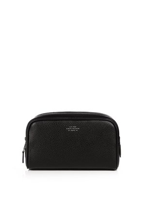 Burlington small leather washbag