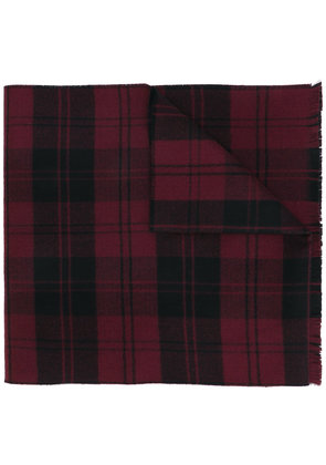 Valentino plaid scarf - Red