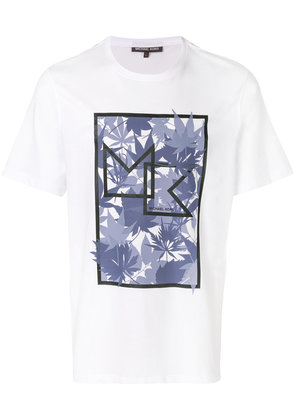 Michael Michael Kors graphic printed T-shirt - White