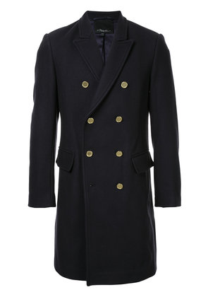 3.1 Phillip Lim double breasted coat - Black