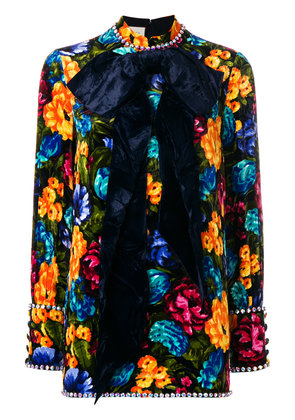 Gucci floral embroidered dress - Multicolour