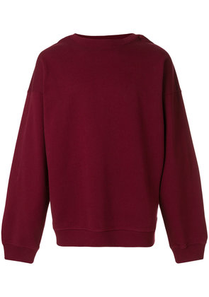 Y / Project double sleeve sweater - Pink & Purple