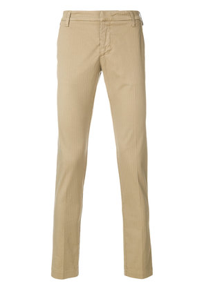 Entre Amis classic chinos - Brown