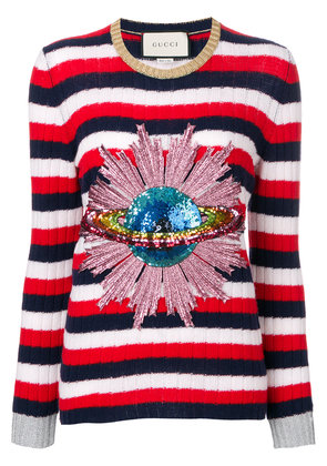 Gucci sequined planet jumper - Multicolour